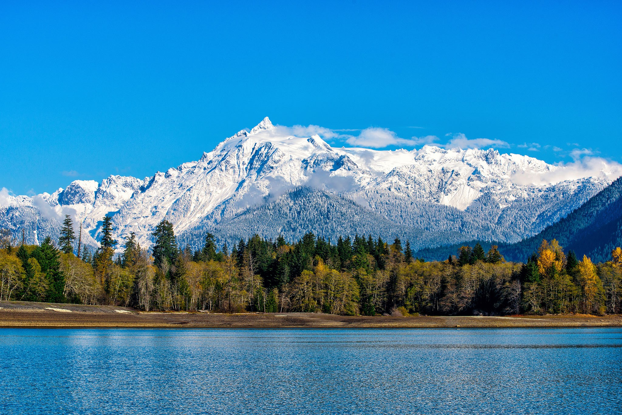 Mount Shuksan from Baker Lake Photo Credit: David Larson